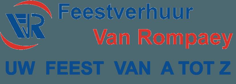 Feestverhuur Van Rompaey Logo